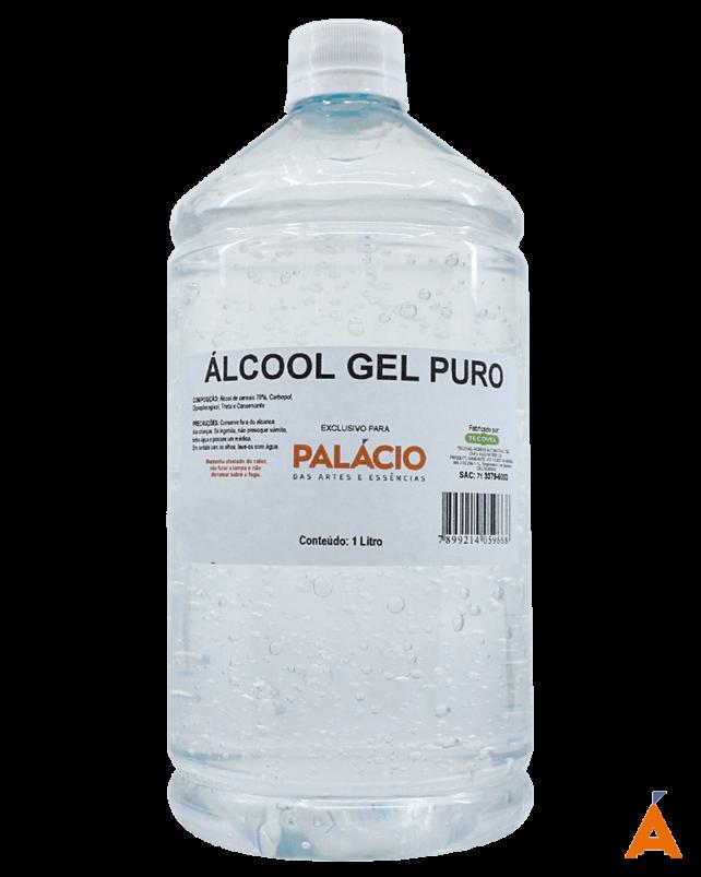 Álcool Gel Puro - 1 Litro