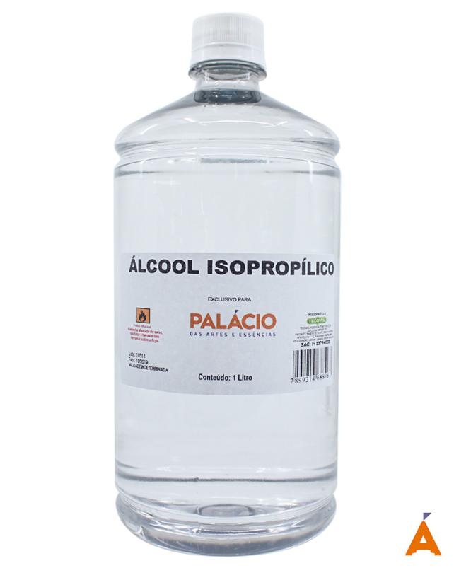 Álcool Isopropílico - 1 Litro