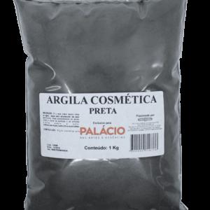 Argila Cosmética Preta - 1 Kg