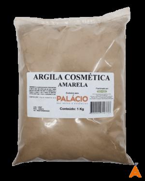 Argila Cosmética Amarela - 1 Kg