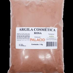 Argila Cosmética Rosa - 1 Kg