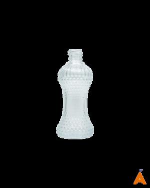 Frasco de Vidro Cintura Transparente - 50 ml