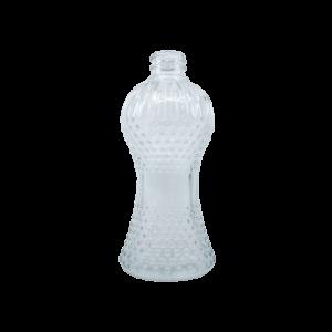 Frasco de Vidro Cintura Transparente - 100 ml